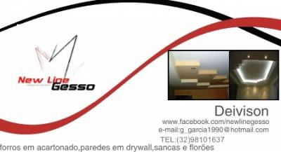 New line gesso